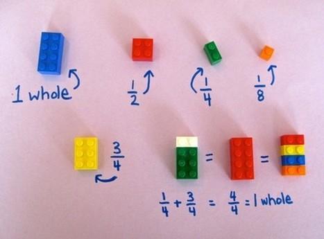Professora usa peças de Lego para ensinar matemática aos alunos | Recull diari | Scoop.it