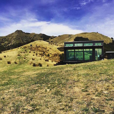 Secluded Bungalows Made Entirely of Glass Provide Scenic Views of New Zealand's Countryside | Le It e Amo ✪ | Scoop.it