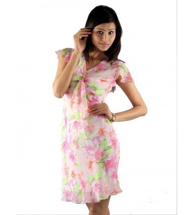 UPTOWN® Online Store | Buy Floral Print Chiffon Dresses Online @ Rs.899.00 | Women Western,Ethnic Wear, Dresses, Tops, Skirts, Kurtis, Leggings with Best Deals- UPTOWNGALERIA | Scoop.it