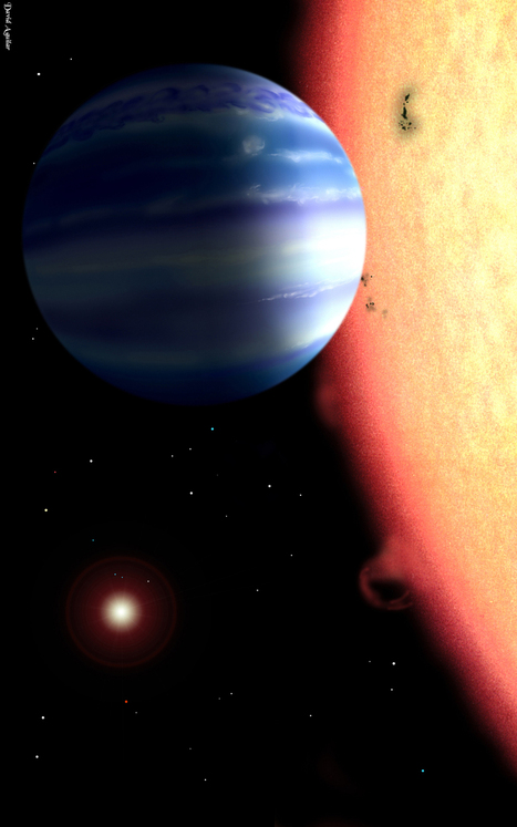 Detecting Water Vapor On A 'Hot Jupiter' Around Tau Bootis | 21st Century Innovative Technologies and Developments as also discoveries, curiosity ( insolite)... | Scoop.it