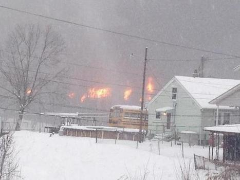 2 West Virginia towns evacuated as another oil train derails, catches fire | Disaster | Scoop.it