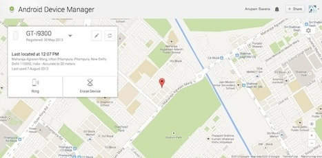 How To Find Your Lost or Stolen Phone Using Android Device Manager | Trickz Cafe | TrickzCafe | Scoop.it