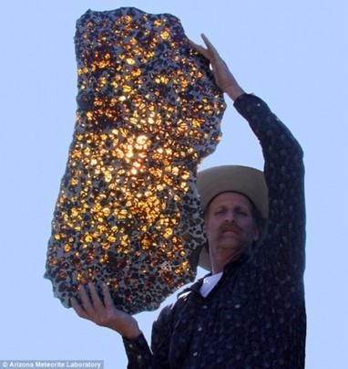 China's Beautiful Pallasite Meteorite | e-Expeditions | e-Expeditions News | Scoop.it