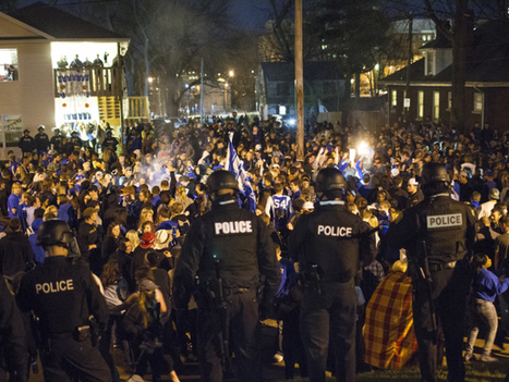 The Latest Kentucky Riot Is Part Of A Long, Destructive Sports Tradition | Police Problems and Policy | Scoop.it