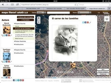 La literatura catalana al mapa del món, en un clic   Núvol   TIG   Scoop.it