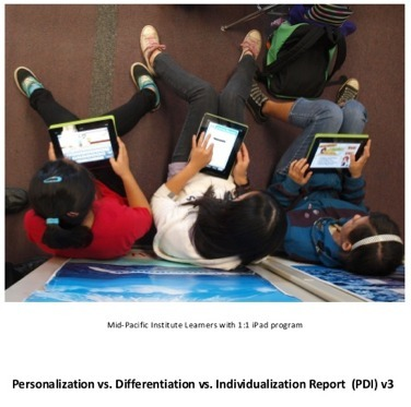 Updated Report Version 3: Personalization vs. Differentiation vs. Individualization | Personalize Learning (#plearnchat) | Scoop.it