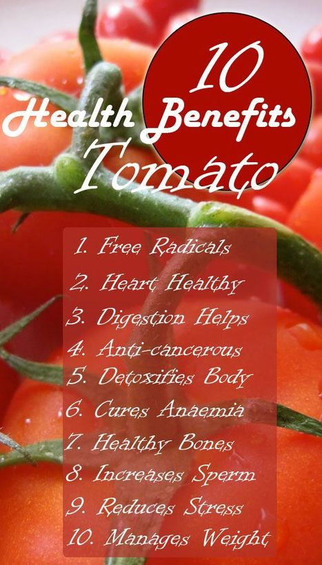 Tomatoes : The World's Healthiest Food | CNA & YOGA | Scoop.it