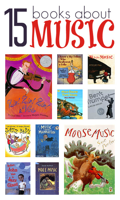 Books About Music For Kids  - No Time For Flash Cards | Musica primaria | Scoop.it