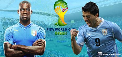 Pronostics Italie - Uruguay : groupe D - Coupe du monde 2014 | Paris sportifs et pronostics | Scoop.it