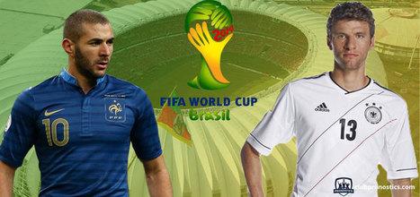 Pronostics France - Allemagne : Mondial 2014 - Quart de finale | Paris sportifs et pronostics | Scoop.it