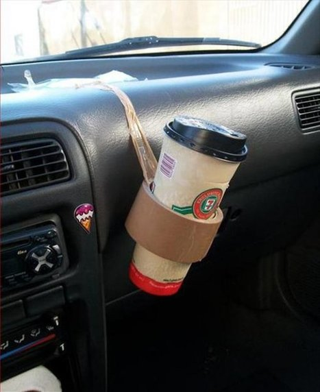 15 Hilariously Stupid Life Hacks That Deserve Two Thumbs Up | Bazaar | Scoop.it