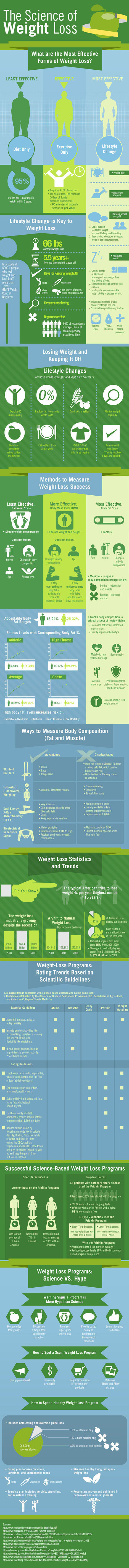 The Science of Weight Loss Infographic | Wicked Wellness | Scoop.it
