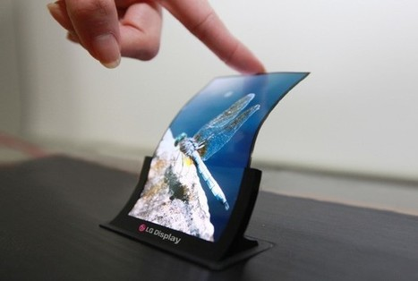 Not a gimmick: LG sees flexible displays on 40% of smartphones by 2020 | Daily Magazine | Scoop.it