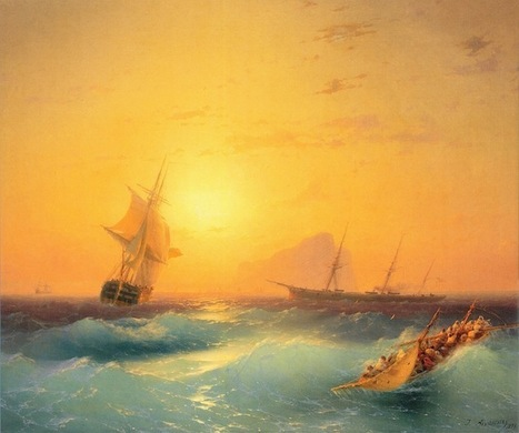 Mesmerizing Translucent Waves from 19th Century Paintings | Le It e Amo ✪ | Scoop.it
