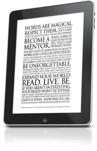 The Voiceover Talent Manifesto | VoiceoverTalent.com | Word Power Studios | Scoop.it