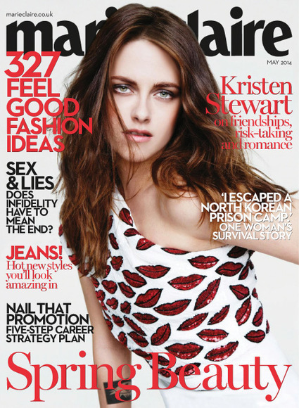 Kristen Stewart covers Marie Claire UK Magazine | Magazines Cover Girl | Scoop.it