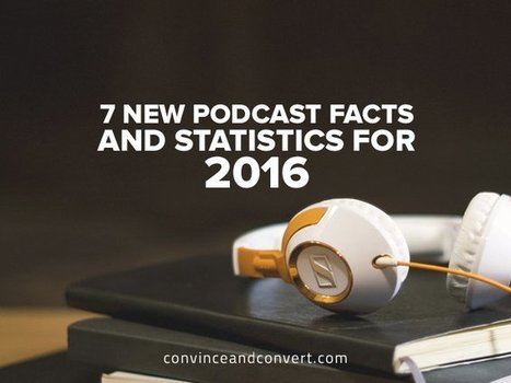7 New Podcast Facts and Statistics for 2016 | SoShake | Scoop.it