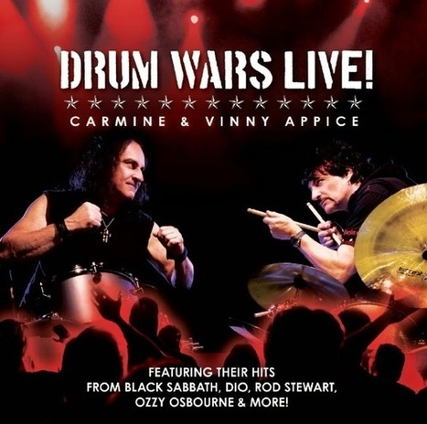 Drum Heroes Carmine & Vinny Appice Go Head-To-Head On The New Release Drum Wars Live! | Write A Music Review | Music News | Scoop.it