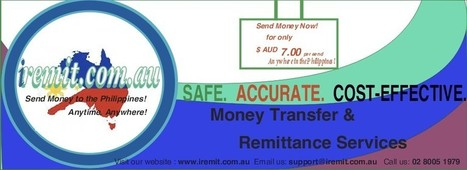 The Advantages of Using Online Money Transfer Services in Sending Money to the Philippines   IRemit To The Philippines   Life of Filipinos in Australia   Scoop.it