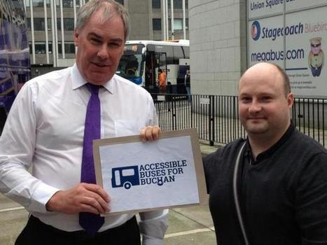 Accessible Buses for Buchan campaign hails Stagecoach bus revamp | Accessible Travel | Scoop.it