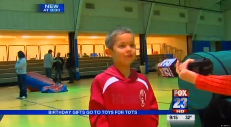 Boy Celebrates Birthday By Donating Hundreds Of Gifts To Charity | It's Show Prep for Radio | Scoop.it