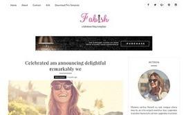Fabish Blogger Template | American Web Design | Blogger themes | Scoop.it