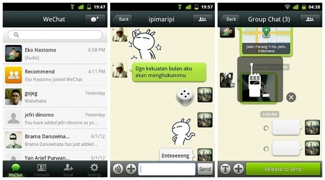 Download WeChat Free For Nokia, Android and PC - Society and Religion | Chinese social networks and marketing | Scoop.it