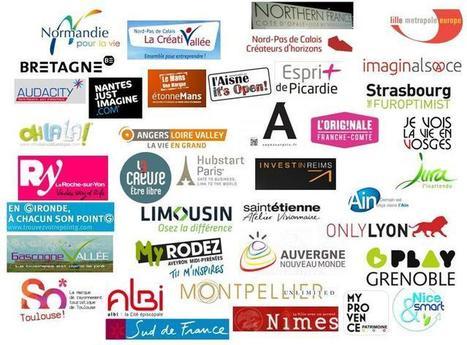 Carte des marques territoriales | Thebault Marc | Marques tourisme | Scoop.it