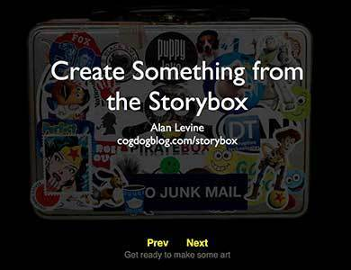 The Storybox - A Digital Time Capsule by Alan Levine | Digi_storytelling | Scoop.it