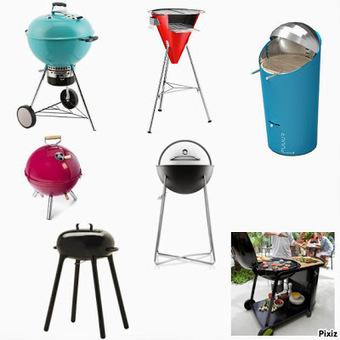 7 barbecues design et performants   Déco Design   Scoop.it