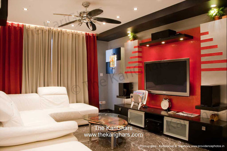 Living Room in Bangalore by The Karighars | Home Interior Design <br>The Karighars can  decorate, design, furnish your dream home | Scoop.it