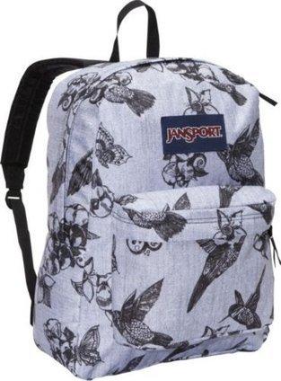 Cheap JANSPORT SUPERBREAK BACKPACK SCHOOL BAG – Grey/ Black Botanical – 9UW | cheaphomeappliances | Scoop.it
