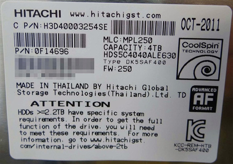 Hitachi GST Quietly Starts to Sell 4TB Internal Desktop Hard Disk Drives in Japan - X-bit labs | Technology and Gadgets | Scoop.it