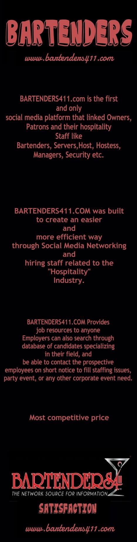 All about Bartenders | Bartenders on GOOD | Bar Tender | Scoop.it