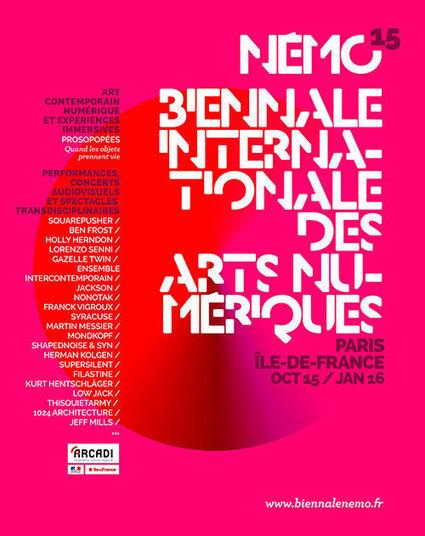 Némo – biennale internationale des arts numériques – 4 mois d'événements - Magazine MCD | Digital #MediaArt(s) Numérique(s) | Scoop.it