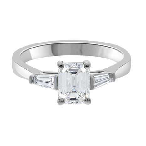 Elizabeth emerald cut diamond engagement ring - Loyes Diamonds | Engagement Rings Dublin. | Scoop.it