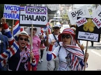 Protesters descend on Thai capital seeking government's ouster | BREAKING NEWS - 10 MAY 2014 - | latestvideo news | Scoop.it