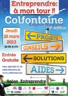 Salon Entreprendre : A mon tour! - Colfontaine | Comparaison 4UP Management | Scoop.it