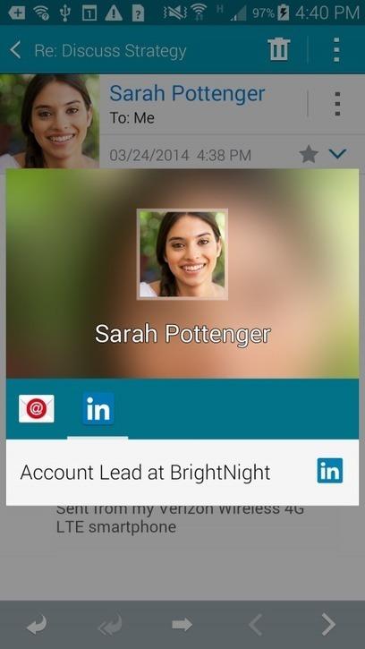 LinkedIn App Exclusive To Galaxy S5 - SiteProNews | Digital-News on Scoop.it today | Scoop.it
