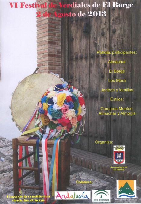 VI Festival Verdiales - El Borge -  2 de Agosto de 2013 | Cosas de mi Tierra | Scoop.it