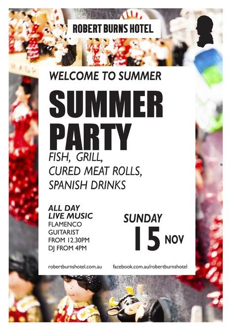 Summer Party 2015 - Robert Burns Hotel | Robert Burns Hotel | Scoop.it