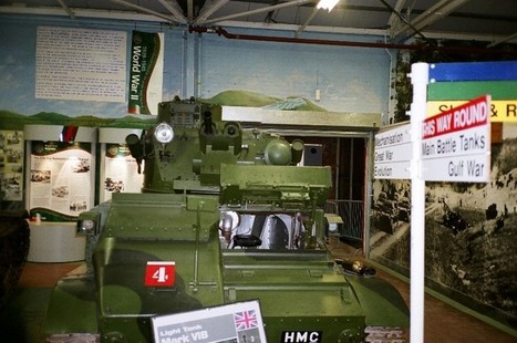 Vickers Mk VIb vol2 – Walk Around | History Around the Net | Scoop.it