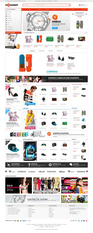 GoMarket, Opencart Response Supermarket Theme | Premium Download | Premium Opencart Themes | Scoop.it