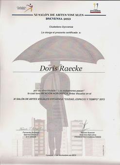 Mencion honorifica en el XI Salon de Artes Visuales ... - doris raecke   Introducción a las artes visuales   Scoop.it