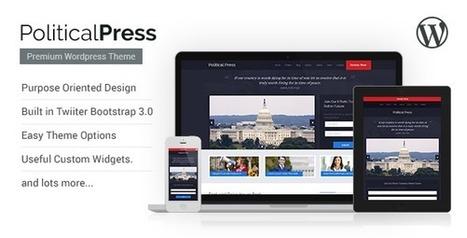 Political Press - Responsive WordPress Theme Download | gdfgz | Scoop.it