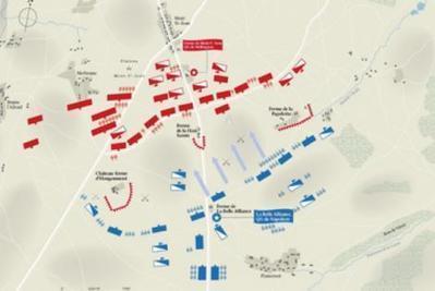 Reconstitution animée de la bataille de Waterloo | Education et TICE | Scoop.it