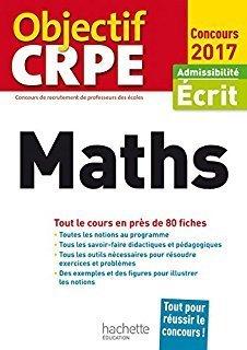 Objectif CRPE - maths : 80 fiches | Les nouveautés de la médiathèque | Scoop.it