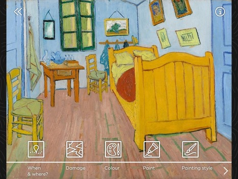 "Le Van Gogh Museum lance l'application mobile ""Touch Van Gogh"" 