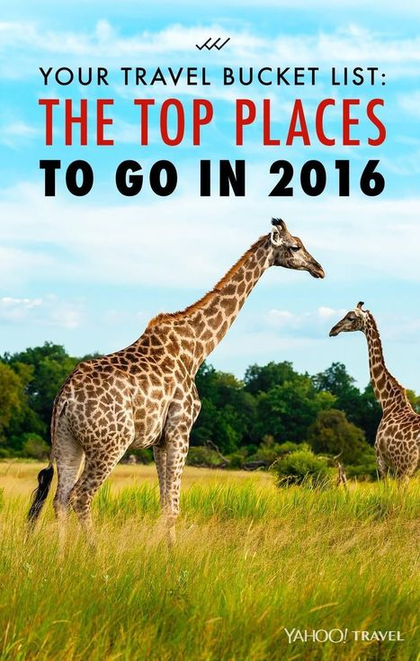 Your Travel Bucket List: the Top Places to Go in 2016 | Local World | Scoop.it