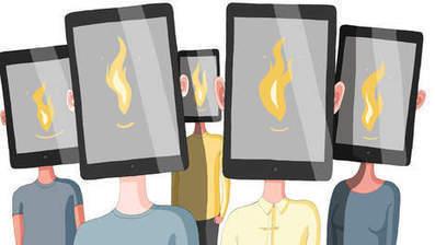 Tablet en laptop werken lesboek de schoolklas uit | alles voor de mediacoach | Scoop.it